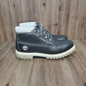 Timberland Black and White Chukka Boots